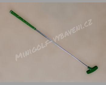 Minigolfová hůl kovová pro veřejnost