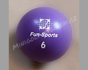 Turnajový minigolfový míč Fun-Sports 6