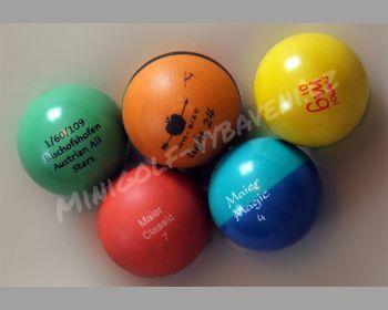 Minigolfový míč závodní