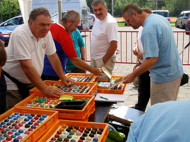 Prodej minigolfových míčků